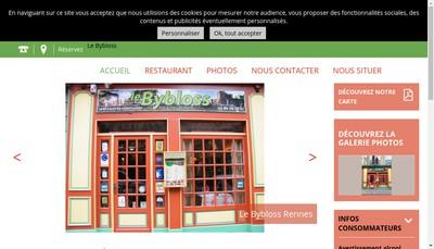 Site internet de Le Bybloss