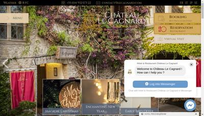 Site internet de Le Cagnard Management