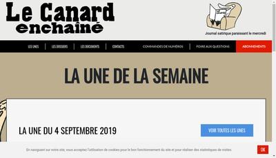 Site internet de Les Editions Marechal, le Canard Enchaine