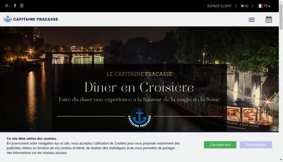 Site internet de Le Capitaine Fracasse
