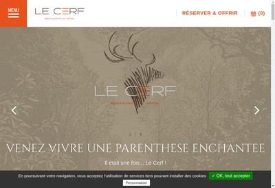 Site internet de Le Cerf