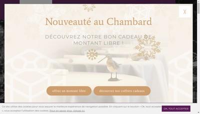 Site internet de Chambard