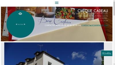 Site internet de Le Champalud