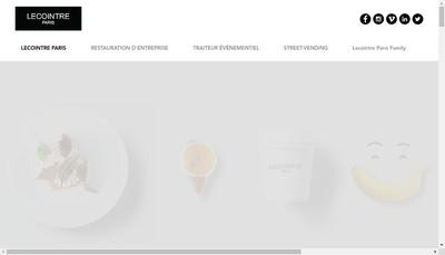 Site internet de Lecointre Paris Concept Service