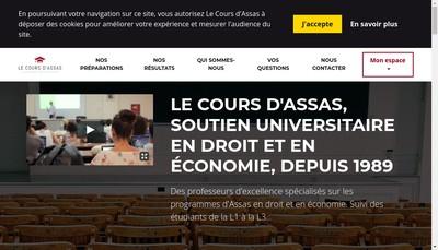 Site internet de Licence +