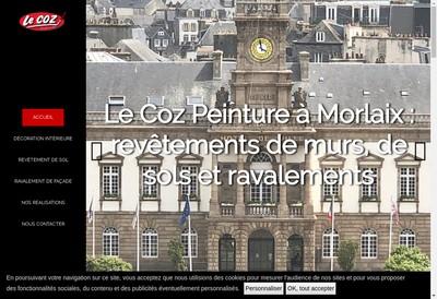 Site internet de Le Coz Peinture