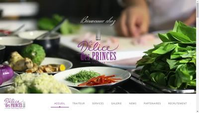 Site internet de Le Delice des Princes