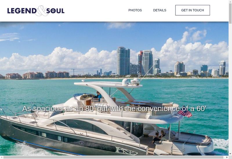 Capture d'écran du site de Fresh Brand