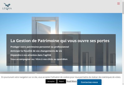 Site internet de LEGIRA