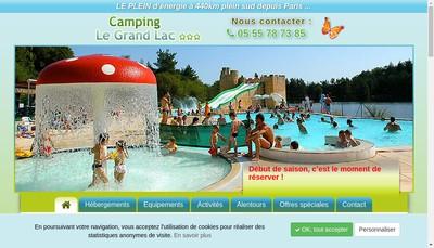 Site internet de Le Grand Lac