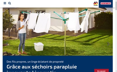 Site internet de Leifheit France