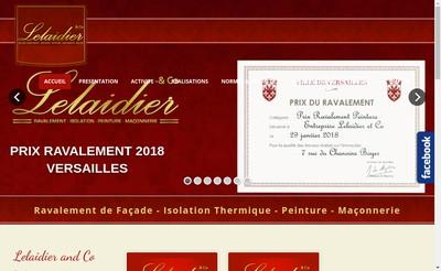 Site internet de Lelaidier And Co