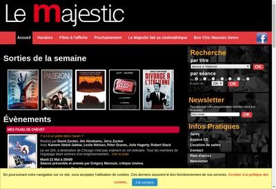 Site internet de Les Ecrans du Nord