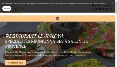 Site internet de Le Maloya