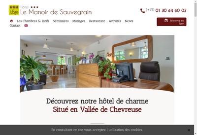 Site internet de Le Manoir de Sauvegrain