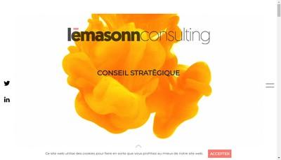 Site internet de Lema Sonn Consulting
