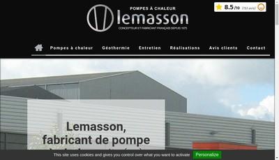 Site internet de Lemasson
