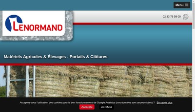 Site internet de Laser Tube Normandie