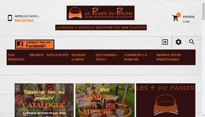 Site internet de Le Panier du Perche