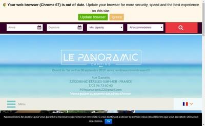 Site internet de Le Panoramic