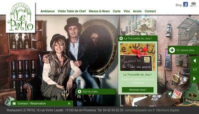 Site internet de Le Patio