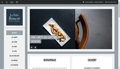 Site internet de Le Petit Boucot