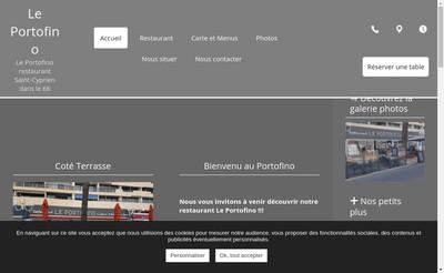Site internet de Le Portofino
