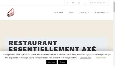 Site internet de Le Pousse Pied