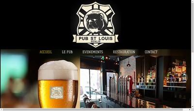 Site internet de Pub Saint Louis