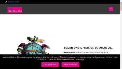 Site internet de Le Reprographe