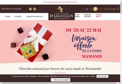 Site internet de Les Chevaliers d'Argouges - Palais d'Ebene