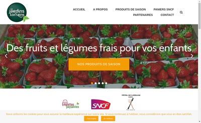 Site internet de Les Jardins Lorrains