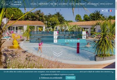 Site internet de Les Varennes