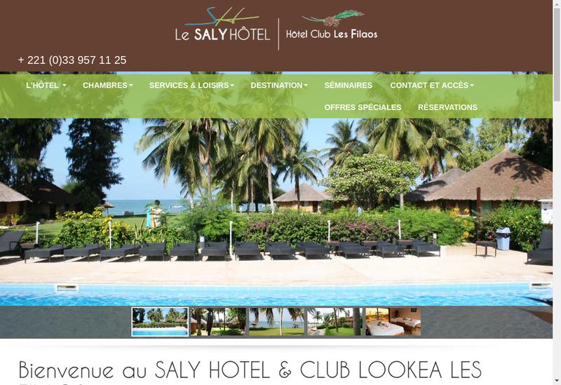 Capture d'écran du site de Buildinvest SA
