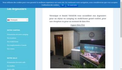 Site internet de Les Argousiers