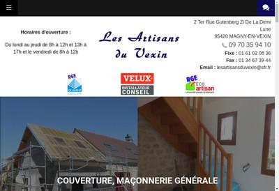 Site internet de Les Artisans du Vexin