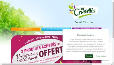 Site internet de Les Crudettes