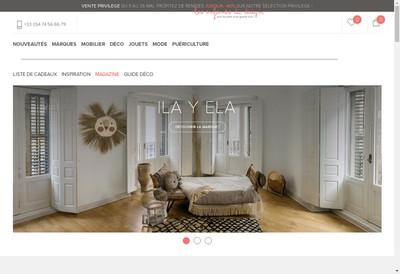 Site internet de Les Enfants du Design