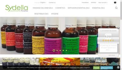 Site internet de Sydella Laboratoire