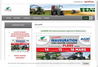 Site internet de Lesieur SA