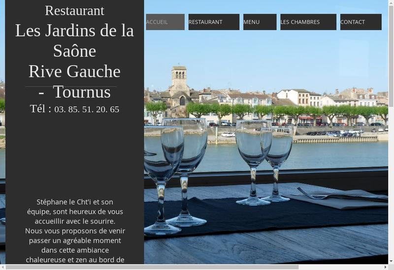 Capture d'écran du site de Les Jardins du Val de Saone
