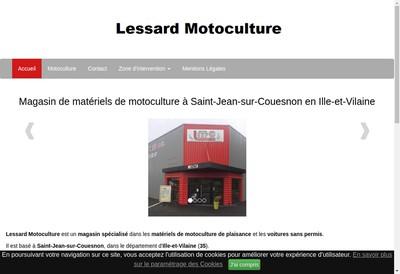 Site internet de SARL Lessard Motoculture