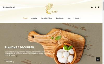 Site internet de Les Trois Olives