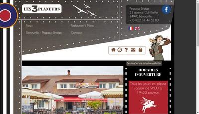 Site internet de Les Trois Planeurs