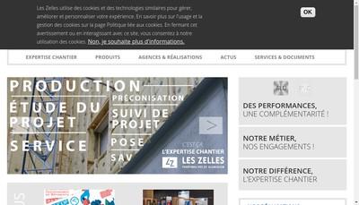 Site internet de Les Zelles