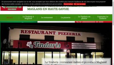 Site internet de Le Tindaris