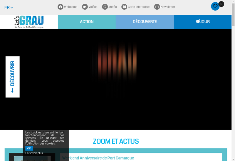 Capture d'écran du site de Casino Flamingo