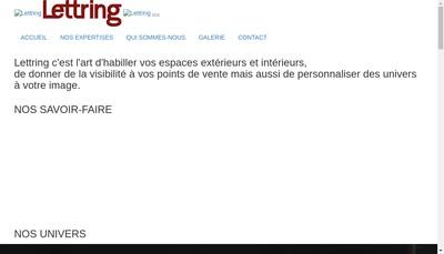 Site internet de Lettring