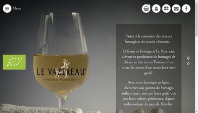 Site internet de Le Vazereau