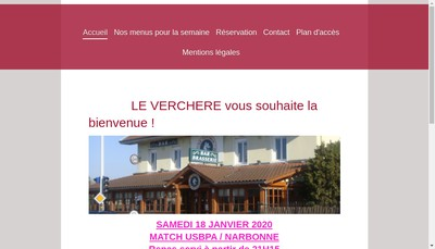 Site internet de Le Verchere